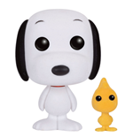 Peanuts POP! Animation Vinyl Figura Snoopy & Woodstock (Flocked) 9 cm