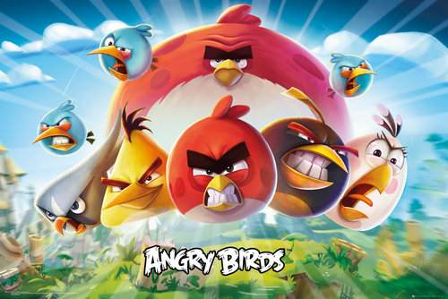 Póster Angry Birds 223503
