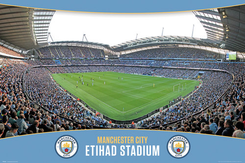 Póster Manchester City FC 223512