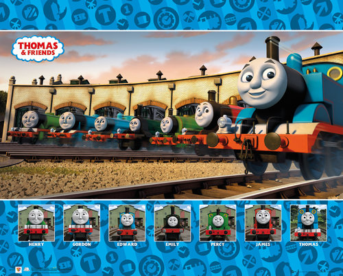 Póster Thomas and Friends 223562