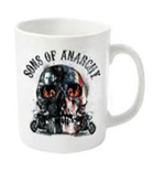 Taza Sons of Anarchy - Flame Skull