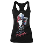 Camiseta de Tirantes Suicide Squad DADDY'S Little Monster