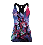 Camiseta de tirantes Deadpool Family - S