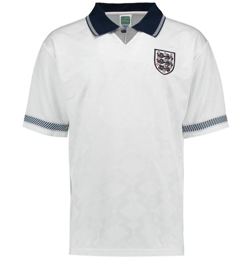 Camiseta Retro Inglaterra 1990 Home