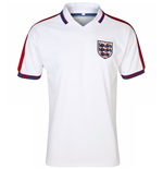 Camiseta Retro Inglaterra 1976 Home