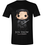 Camiseta Juego de Tronos (Game of Thrones) - Pop Art Jon Snow