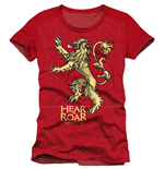 Camiseta Juego de Tronos (Game of Thrones) Lannister Hear Me Roar