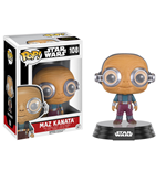 Star Wars Episode VII POP! Vinyl Cabezón Maz Kanata 9 cm