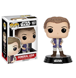 Star Wars Episode VII POP! Vinyl Cabezón General Leia 9 cm