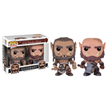 Warcraft Pack de 2 POP! Movies Vinyl Figuras Durotan & Ogrim 9 cm