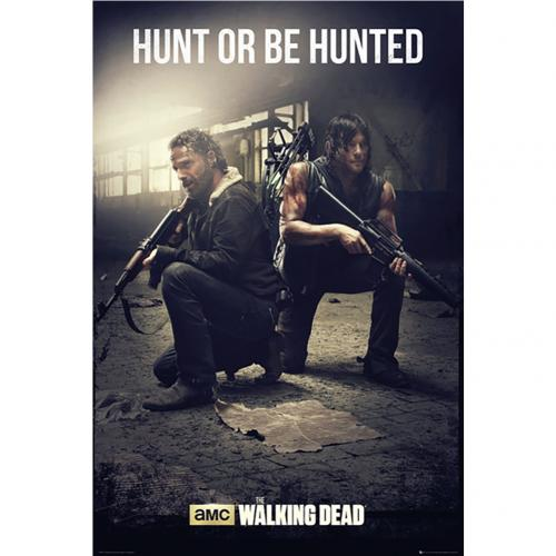 Póster The Walking Dead Hunt 219