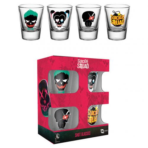 Set vasitos Suicide Squad