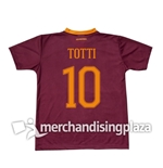 Camiseta  AS Roma 2016/17 Home Totti 10 Réplica
