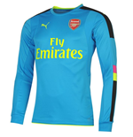 Camiseta Arsenal 2016-2017 Away (Azul oscuro)