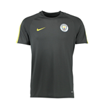 Camiseta Manchester City FC 2016-2017 (Gris Oscuro)