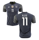Camiseta Alemania Fútbol 2016-2017 Away