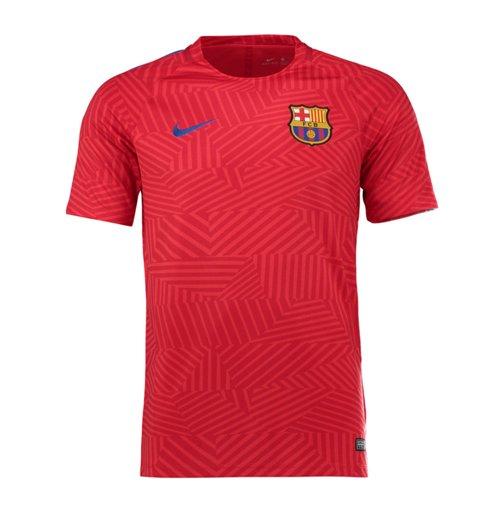 Compra Camiseta entrenamiento pre partido FC Barcelona 2016-2017 (Rojo) 405e159bfba
