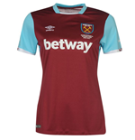 Camiseta West Ham United 2016-2017 Home de chica