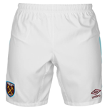 Pantalón corto West Ham United 2016-2017 Home (Blanco)