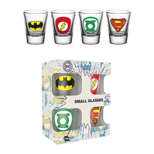 Pack vasitos Superhéroes DC Comics