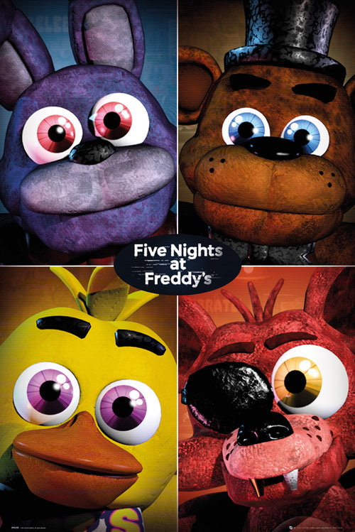 Póster Five Nights at Freddy's 227276