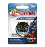 Captain America Civil War POP! Pins Chapa Black Panther