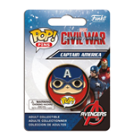 Captain America Civil War POP! Pins Chapa Captain America