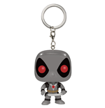 Marvel Comics Llavero Pocket POP! Vinyl Deadpool X-Force Costume 4 cm