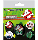Los Cazafantasmas Pack 5 Chapas Who You Gonna Call