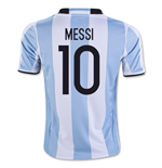 Camiseta Argentina 2016-2017 Home (Messi 10)