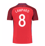 Camiseta Inglaterra 2016-2017 Away (Lampard 8)