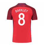 Camiseta Inglaterra 2016-2017 Away (Barkley 8)
