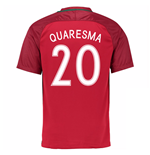 Camiseta Portugal 2016-2017 Home (Quaresma 20)