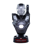 Captain America Civil War Busto 1/6 War Machine Mark III 11 cm
