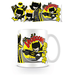 Justice League Taza Chibi Batman Comic