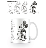 Mickey Mouse Taza Sketch Process