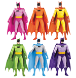 Batman Pack de 6 Figuras Rainbow 17 cm