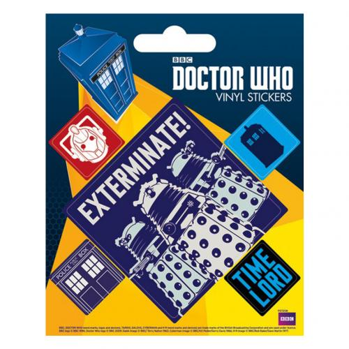 Pegatina Doctor Who 228861