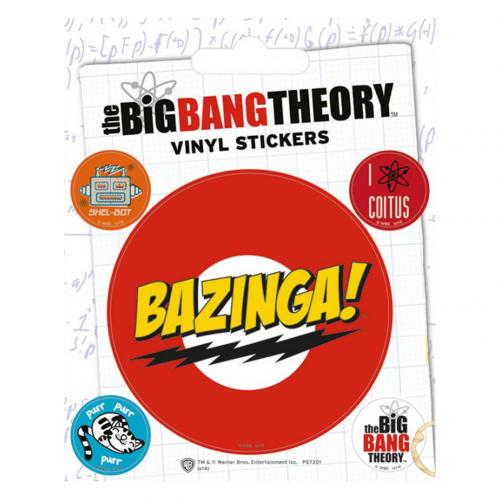 Pegatina Big Bang Theory 228869