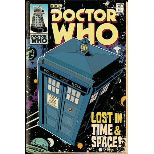 Póster Doctor Who Tardis 222