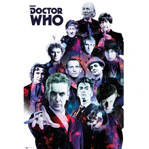 Póster Doctor Who Cosmos 220