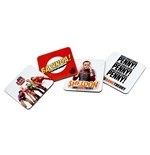 Set Posavasos Big Bang Theory