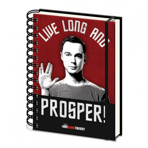 Libreta Big Bang Theory