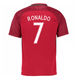 Camiseta Portugal 2016-2017 Home (Ronaldo 7)