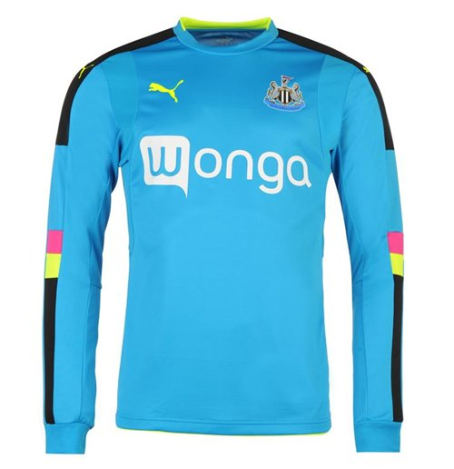 Camiseta manga larga Newcastle 2016-2017 Away (Azul oscuro)