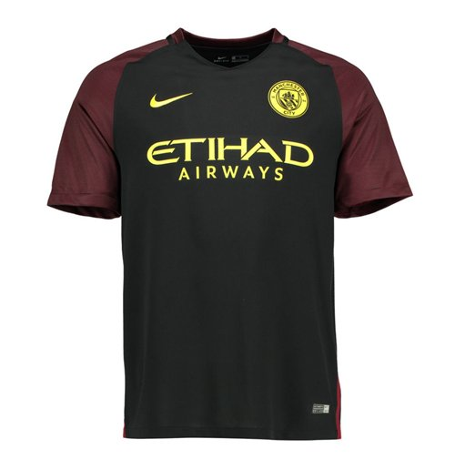 Camiseta Manchester City FC 2016-2017 Away de niño