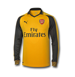 Camiseta manga larga Arsenal 2016-2017 Away