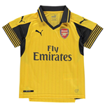 Camiseta Arsenal 2016-2017 Away de niño