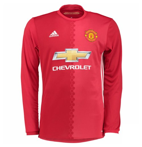 Camiseta manga larga Manchester United FC 2016-2017 Home