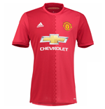 Camiseta Manchester United FC 2016-2017 Home